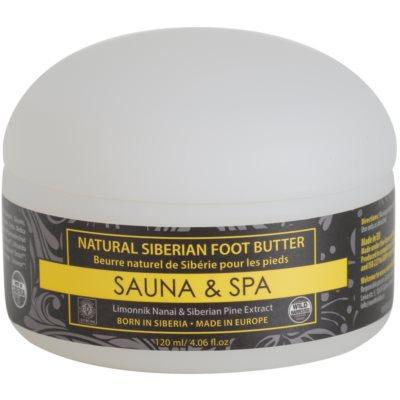 Natura Siberica Sauna and Spa βούτυρο Για τα πόδια