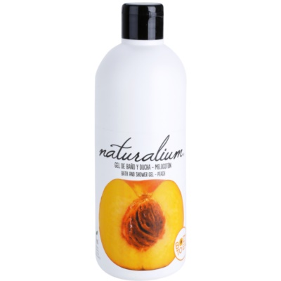 Naturalium Fruit Pleasure Peach gel de douche nourrissant