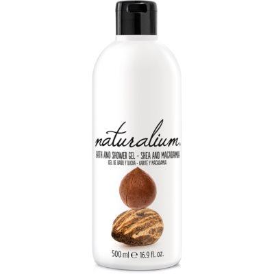 Naturalium Nuts Shea and Macadamia gel douche régénérant