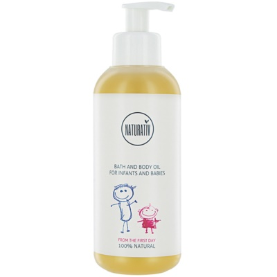 Bath And Body Oil For Children From Birth