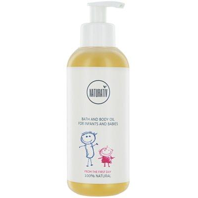 Bade - und Gesichtsöl für Kinder ab der Geburt