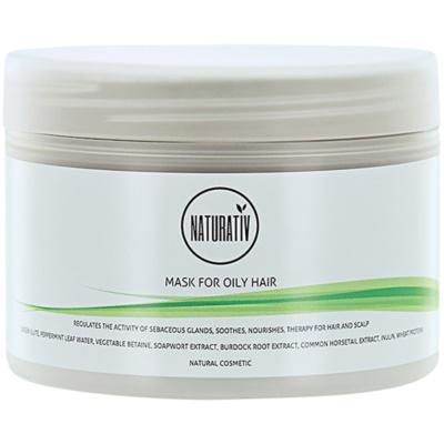 bahenní maska pro mastné vlasy