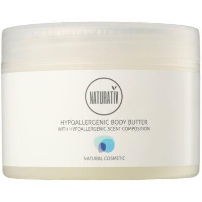 telové maslo s hydratačným a upokojujúcim účinkom pre suchú až veľmi suchú pokožku