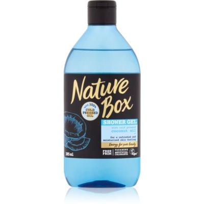 Nature Box Coconut Refreshing Shower Gel with Moisturizing Effect  385 ml