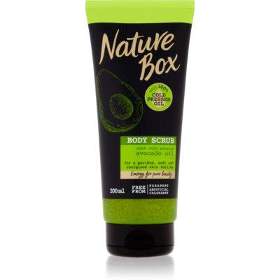 Nature Box Avocado tisztító testpeeling