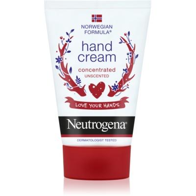 crema de manos sin perfume