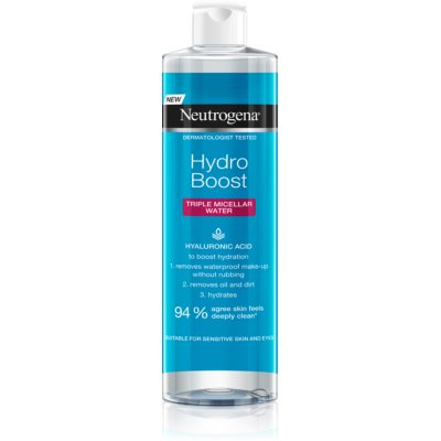Neutrogena Hydro Boost® Face Micellair Water 3in1  met Hydraterende Werking