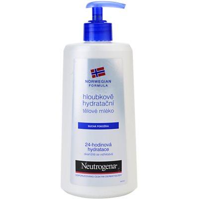 Neutrogena Norwegian Formula® Deep Moisture дълбоко хидратиращо мляко за тяло за суха кожа