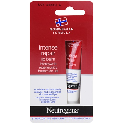Neutrogena Norwegian Formula® Intense Repair Repair Lip Balm