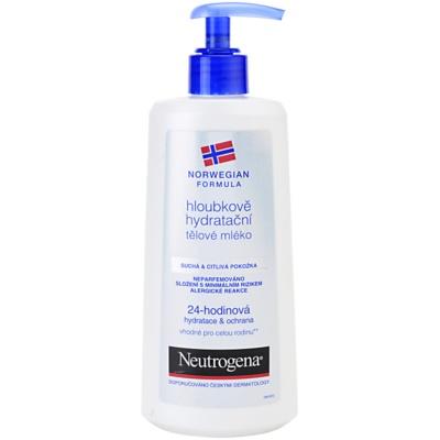 Feuchtigkeitsspendende Bodymilk mit Tiefenwirkung für trockene und empfindliche Haut
