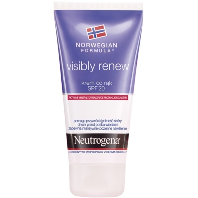 Neutrogena Visibly Renew crema de manos