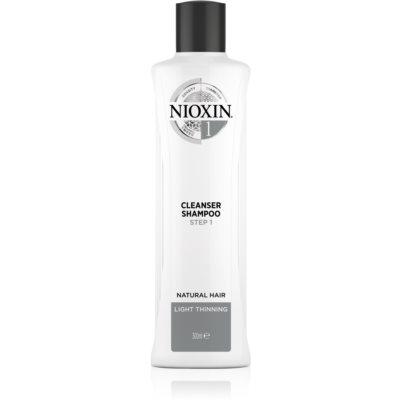čisticí šampon pro jemné až normální vlasy