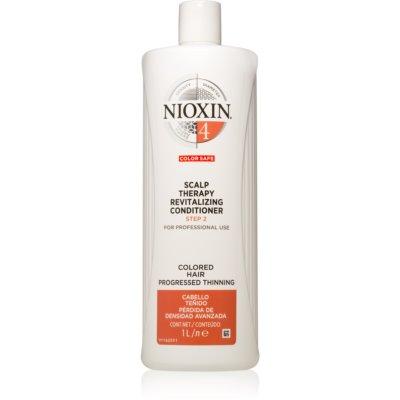 Nioxin System 4 Diepe Voedende Conditioner  voor Gekleurd en Beschadigd Haar   1000 ml