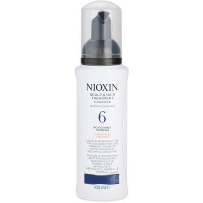 zdravljenje kože proti izrazitemu redčenju normalnih do močnih naravnih in kemično obdelanih las