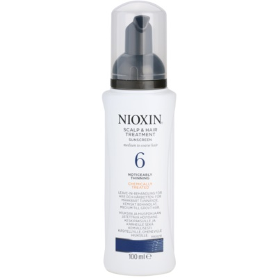 ošetření pokožky pro výrazné řídnutí normálních až silných, přírodních i chemicky ošetřených vlasů