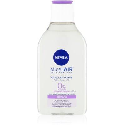 agua micelar suave para pieles sensibles