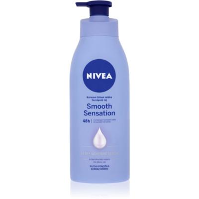 Nivea Smooth Sensation hydratačné telové mlieko pre suchú pokožku