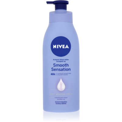 Nivea Smooth Sensation Hydrating Body Lotion For Dry Skin