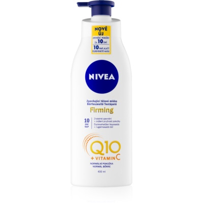 Nivea Q10 Plus leite corporal refirmante para a pele normal