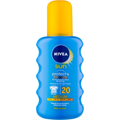 Nivea Sun Protect & Bronze spray solaire intense SPF 20