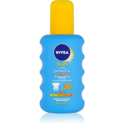 Nivea Sun Protect & Bronze spray solaire intense SPF 30