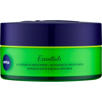 Antioxidant Night Cream with Hyaluronic Acid