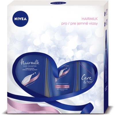 Nivea Hairmilk coffret I.