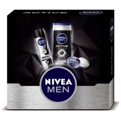 Nivea Men Active Clean kozmetická sada II.