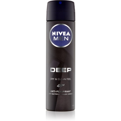 Nivea Men Deep antiperspirant ve spreji 48h