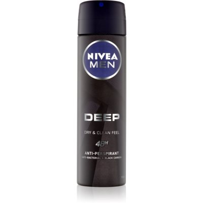 Nivea Men Deep antitranspirante en spray 48h