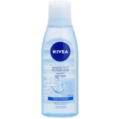 agua limpiadora para pieles normales y mixtas