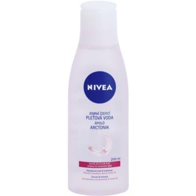 nyugtató tisztító arcvíz az érzékeny száraz bőrre