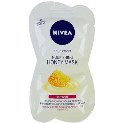 tápláló mézes maszk