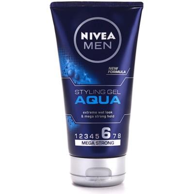 Nivea Men Aqua Haargel mit Wet-Effekt extra starke Fixierung