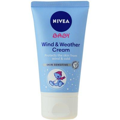 Nivea Baby Beschermende Crème  Bescherming tegen kou en wind
