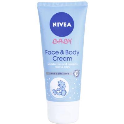 Nivea Baby hydratačný krém na tvár a telo pre deti