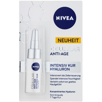Nivea Cellular Anti-Age cure rajeunissante intense à l'acide hyaluronique