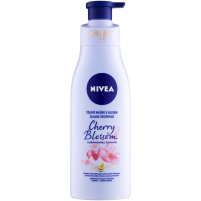 Nivea Cherry Blossom & Jojoba Oil Body Milk With Oil