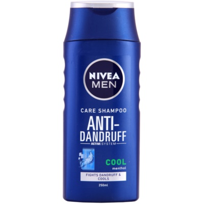 Nivea Men Cool Anti - Dandruff Shampoo For Itchy And Irritated Skin
