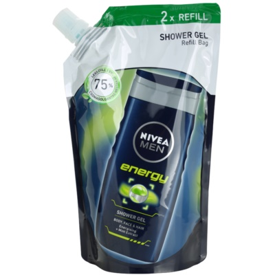 Nivea Men Energy Shower Gel Refill