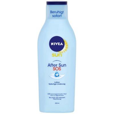 Nivea Sun SOS upokojujúce mlieko po opaľovaní