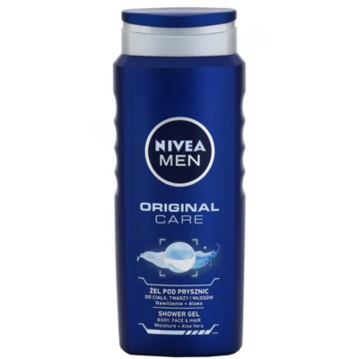 Nivea Men Original Care gel de douche visage, corps et cheveux