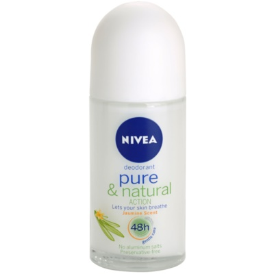 Nivea Pure & Natural roll-on dezodor