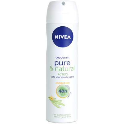 Nivea Pure & Natural Deodorant Spray 48h