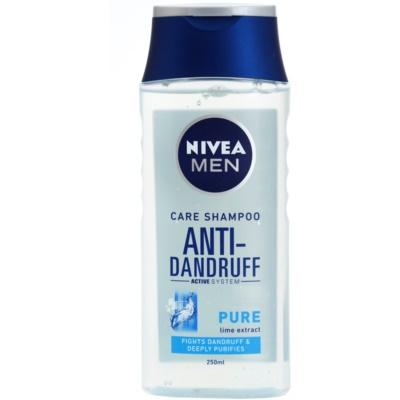 Nivea Men Pure shampoing antipelliculaire pour cheveux normaux à gras