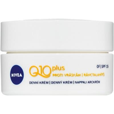 Nivea Q10 Plus crema antiarrugas de día SPF 15