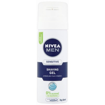 Nivea Men Sensitive gel per rasatura