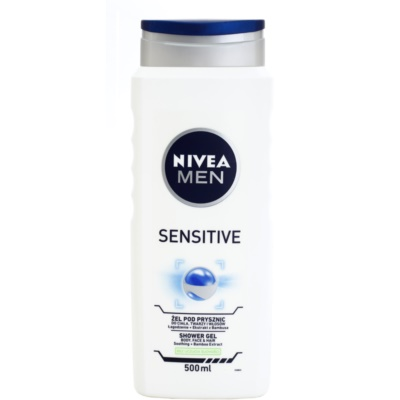 Nivea Men Sensitive gel de douche visage, corps et cheveux