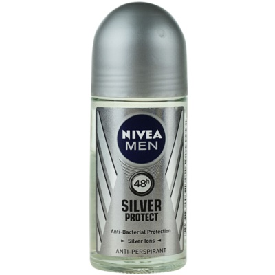 Nivea Men Silver Protect roll-on antibacteriano para homens