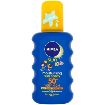 Nivea Sun Kids Kids' Colored Spray For Tanning SPF 50+